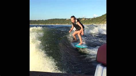 Tige Boats Josh Kerr by Kerr Wakesurfing Age 8 Surfer Josh Kerr