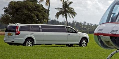 Limousine Airport Transfers by Luxury Vip Airport Transfers Mauritius Attractions