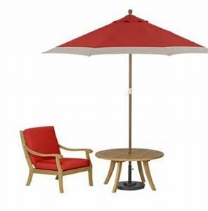 Sonnenschirm Tisch Kombination : frische sch ne garten deko ideen aus kanada festliche atmoshp re ~ Markanthonyermac.com Haus und Dekorationen