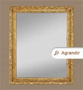 Miroir Doré Ancien : miroir ancien cadre bois dor d cor de feuillages miroirs anciens ~ Teatrodelosmanantiales.com Idées de Décoration