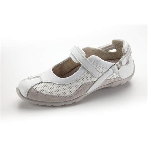 blouse femme de chambre chaussures médicales pour femme nord ways blanche