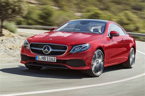 New Mercedes Eclass Coupe Revealed Latest Twodoor On