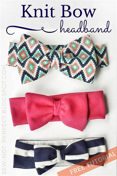 Headband Thecraftyblogstalker Fabric Bow Headbands