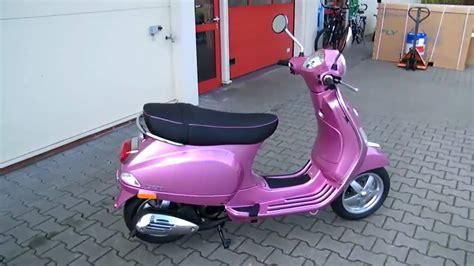 vespa roller 50 vespa lx 50 2t chic 2010 roller farbe rosa