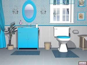Meuble Salle De Bain Turquoise : d coration salle de bain turquoise ~ Dailycaller-alerts.com Idées de Décoration