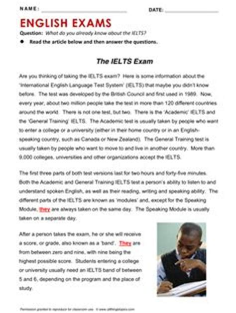 esl testing images english test english exam