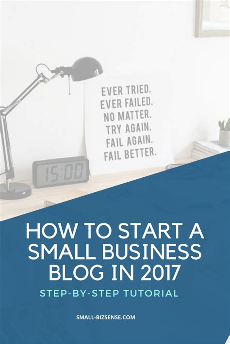 A Beginners Guide To Starting A Small Business Blog (in