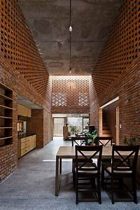 Brick Termitary House Shaped By The Extreme Climate Of Da Nang  Vietnam