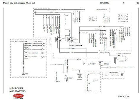 oct   peterbilt  complete wiring diagram