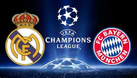 real madrid  bayern munich uefa champions league semi