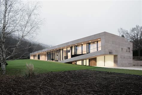 Slight Slope Long House  Io Architects Archdaily
