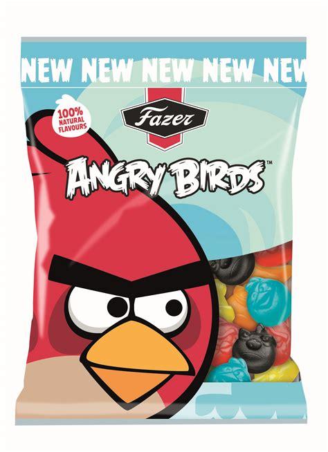 Fazer Angry Birds saldumi jau jūnijā veikalu plauktos ...