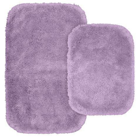 garland rug glamor purple      washable bathroom  piece rug set alu pc