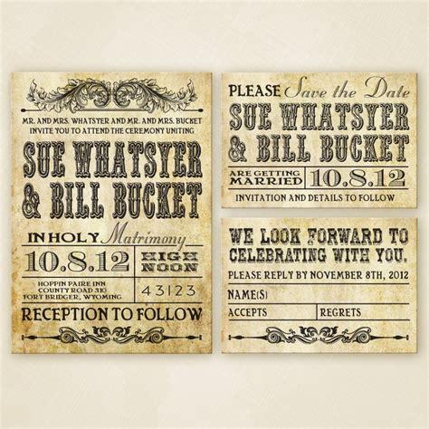 Western Wedding Invitations Wedding Ideas and Wedding