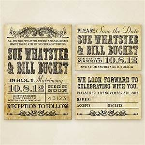 western wedding invitation set printable wedding With free printable cowboy wedding invitations