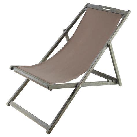 chaise chilienne chaise longue chilienne pliante en acacia grisée l 111