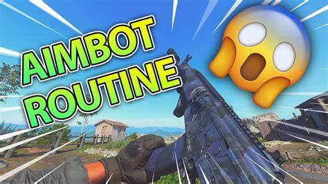 warzone aim routine     aim  warzone