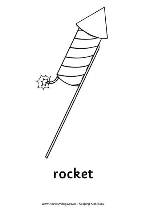 Fp 2000 Vuurwerk Kleurplaat by Rocket Colouring Page