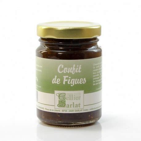 cuisiner des figues confit de figues 110g