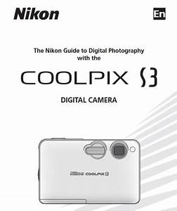 Nikon Coolpix S3 Manual  Camera Owner User Guide And