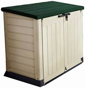 Keter Plastic Store It Out Garden Storage Box  Green