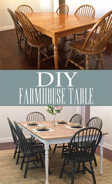 diy farmhouse table   perfect life  bliss