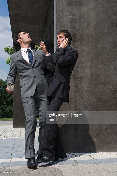 Businessmen Bumping Into Each Other High-Res Stock Photo ...
