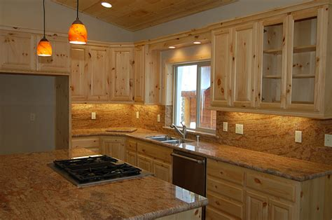 home remodeling ideas knotty pine kitchen cabinets doors