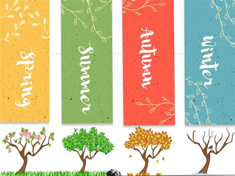 Orange And Black Wallpaper Season Of Trees Backgrounds Blue Green Multi Color Nature Templates Free Ppt Backgrounds