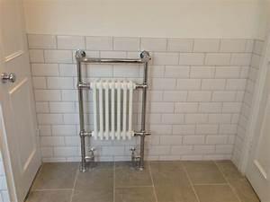Metro Tiles Bath Shower Traditional Bathroom London
