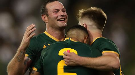 Australia vs Tonga LIVE: Rugby League Test match k ...