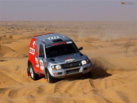Kaos Rally Dakar Mitsubishi Pajero mitsubishi pajero montero rally iii images 1024x768