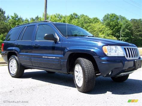 midnight blue pearl 2004 jeep grand limited