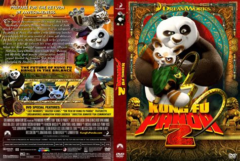 dvd covers and labels kung fu panda 2 dvd cover