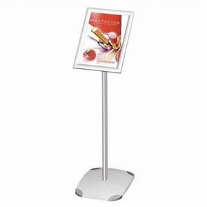 Cadre Photo Sur Pied : porte affiche sur pied et socle cadre clic clac pour affiche a3 ~ Teatrodelosmanantiales.com Idées de Décoration