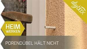 Dübel Hält Nicht : porenbeton d bel h lt nicht youtube ~ A.2002-acura-tl-radio.info Haus und Dekorationen