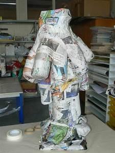 Sculpture En Papier Maché : personnages historiques artiste plasticienne intervenant en arts visuels ~ Melissatoandfro.com Idées de Décoration