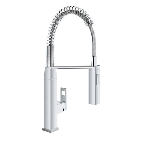 grohe kitchen faucet grohe chrome kitchen faucet handle