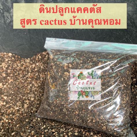 ดินปลูกแคคตัส ใบก้าม | Shopee Thailand