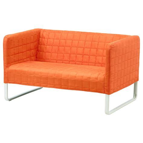 canap orange knopparp canapé 2 places orange ikea
