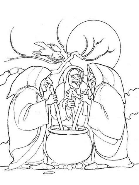 witches colouring pages Back to Coloring pages witches