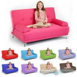 sofa kinder childrens cotton twill clic clac sofa bed with armrests futon sofabed guest