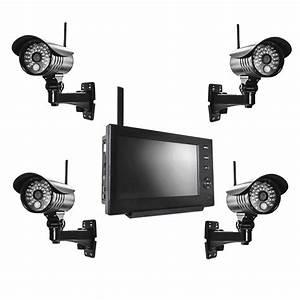Kamera Zur überwachung : funk video berwachungssystem set 4x kamera 1x monitor ~ Michelbontemps.com Haus und Dekorationen