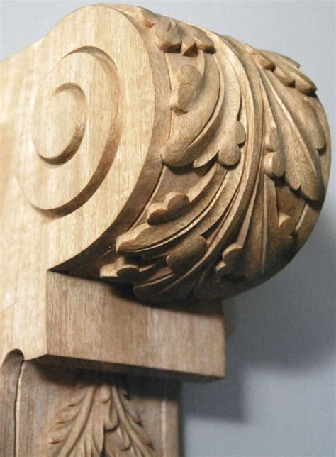 Carved Wood Corbels by Agrell Architectural Carving Showcase Of Work