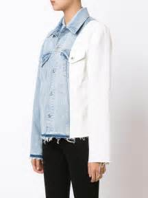 Diddy Wears Off White X Levis Denim Jacket At Rockwell