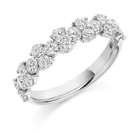 18ct Rose Gold Diamond Floral Band Vintage Eternity Ring. Dimond Wedding Rings. Oval Medallion. Ladies Anklets. Crossover Rings. Star Sapphire Engagement Rings. Add A Diamond Bangle Bracelet. Penguin Watches. Meteorite Wedding Rings