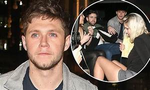 Niall Horan parties with a bevy of beauties in London ...