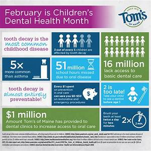 February is Children's Dental Health Month | Visual.ly