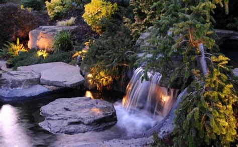 koi pond lighting ideas 40 ultimate garden lighting ideas
