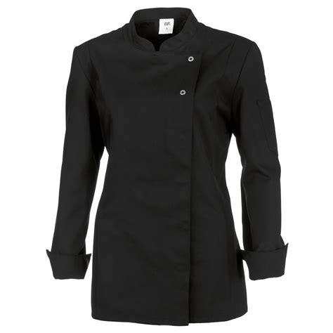 veste cuisine veste de cuisine femme manches longues peut bouillir noir